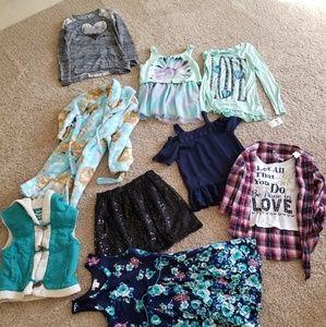 Girls Large Clothing Bundle
